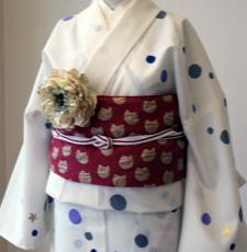 tsumori chisato浴衣アップ 帯〆のコピー