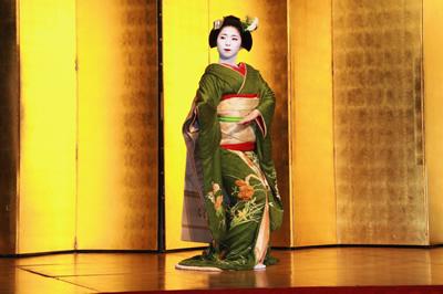 舞妓さん踊りイメージ