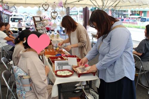 山本呉服店池田店30周年祭 ハンドメイドマーケット