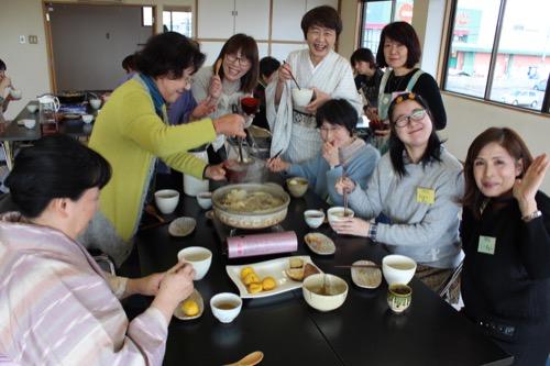 山本呉服店 やきいも部新年会 鍋パーティー3