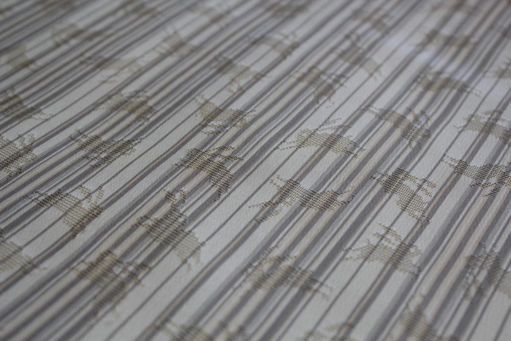 もじり織り 縞 うさぎ