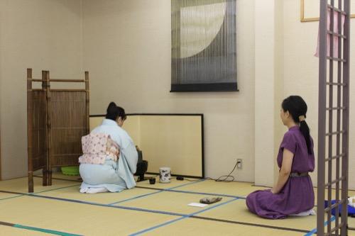 2018やまもと文化祭 お茶席体験