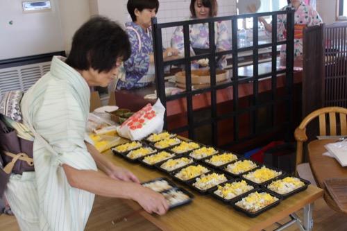 2018やまもと文化祭 お寿司作り